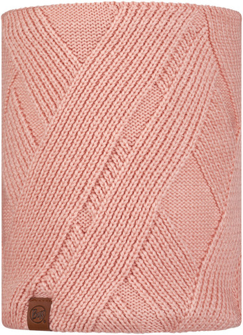 Вязаный шарф-труба с флисом Buff Neckwarmer Knitted Polar Raisa Rose фото 1