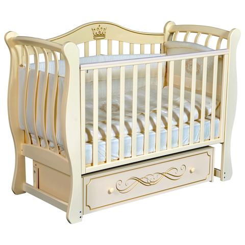 Кровать детская Виолетта B-2 (универсальный маятник, закрытый ящик)