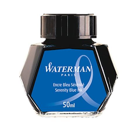 Флакон чернил - Waterman, синие 50 мл.