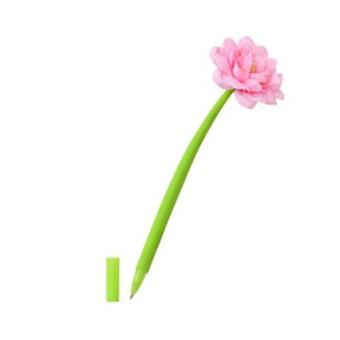 Ручка BASIR Чайная роза шариковая синяя МС-5365