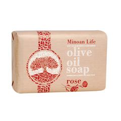 Оливковое мыло Роза MINOAN LIFE 100 гр