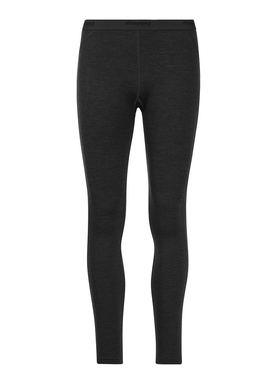 Bergans термобелье брюки 1967 Fjellrapp Lady Tights Black - Фото 1
