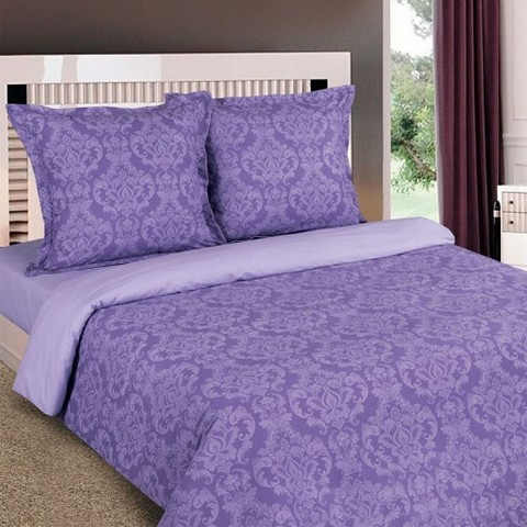 Поплин 220 см 115 г/м2 Византия фиолетовая основа