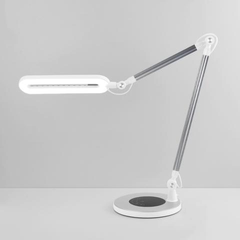 Настольный светодиодный светильник 80420/1 серебристый 80420/1