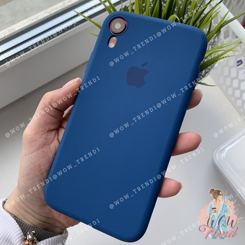 Чехол iPhone XR Silicone Slim Case /blue horizon/