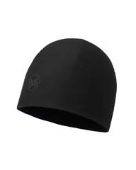 Тонкая флисовая шапочка Buff Hat Polar Microfiber Solid Black