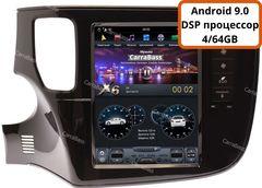 Магнитола для Mitsubishi Outlander 2012-2018 Android 9.0 4/64GB IPS DSP модель CB-3108PX6