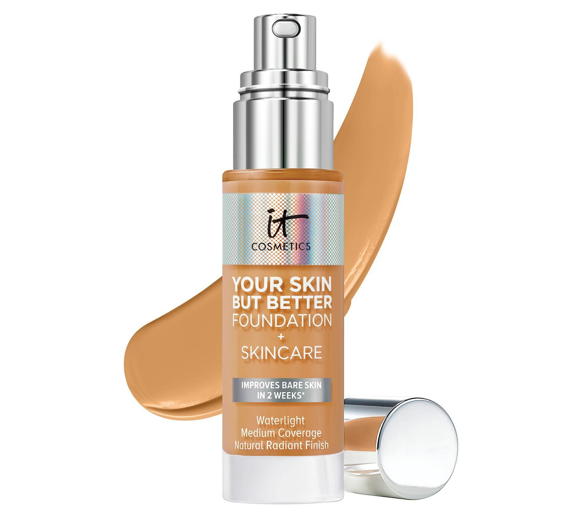 Тон IT Cosmetics Your Skin But Better Foundation + Skincare Medium Neutral 31