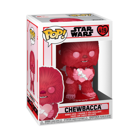 Funko POP! Bobble: Star Wars: Valentines: Cupid Chewbacca || Чубакка-Купидон