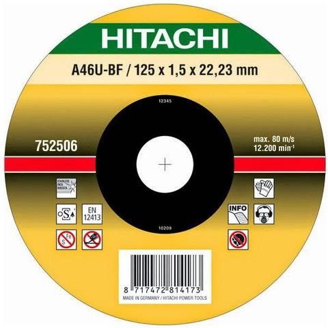 Диск отрезной по нерж.стали 115*1.0*22.2мм HITACHI Inox