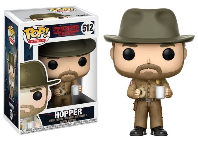 Фигурка Funko POP! Vinyl: Stranger Things: Hopper w/ Donut 14425