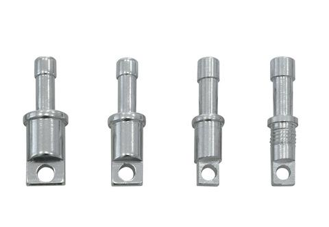 Алюминиевые наконечники под люверсы для алюминиевых дуг Alexika Lock Tips ALU