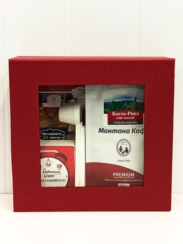 Экспресс набор «Монтана Кофе» Коста-Рика (кофе молотый, фильтры), 150гр