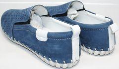 Мужские туфли летние Alvito 01-1308 92-86