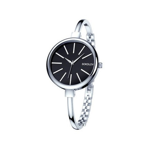 314.71.00.000.02.01.2 -Женские стальные часы от SOKOLOV