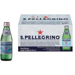 Вода минеральная S.Pellegrino газированная 0.25 л (24 штуки в упаковке)