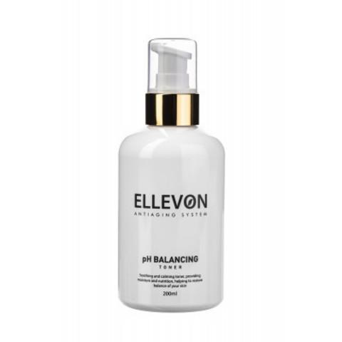 ELLEVON Тоник для регуляции pH баланса | pH BALANCING TONER ELLEVON