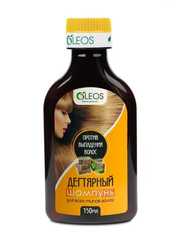 Шампунь Дегтярный против выпадения волос Oleos