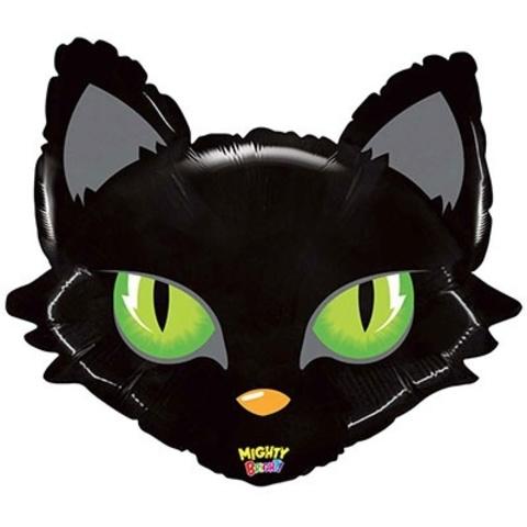 Фольгированный шар Голова кота