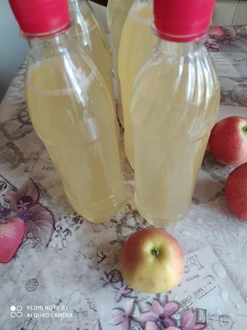 Уксус яблочный домашний 0,5 л