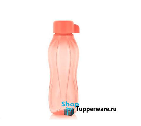 Бутылка Эко мини 310 мл в коралловом цвете