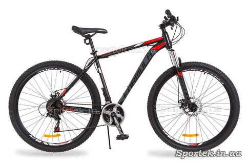 Чорно-червоний гірський чоловічий велосипед Formula Atlant DD (Формула Атлант)