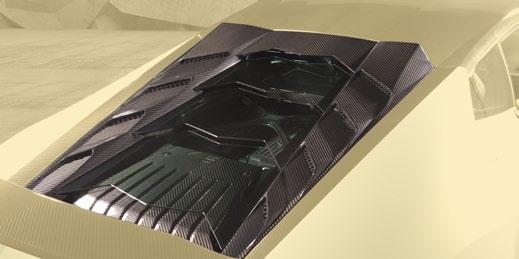 Карбоновые панели Mansory Style для Lamborghini Huracan