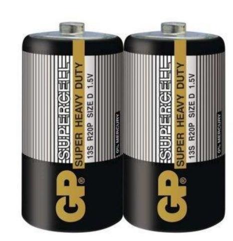 Элемент питания GP R20 Supercell к-т2 shrink 1/10/100