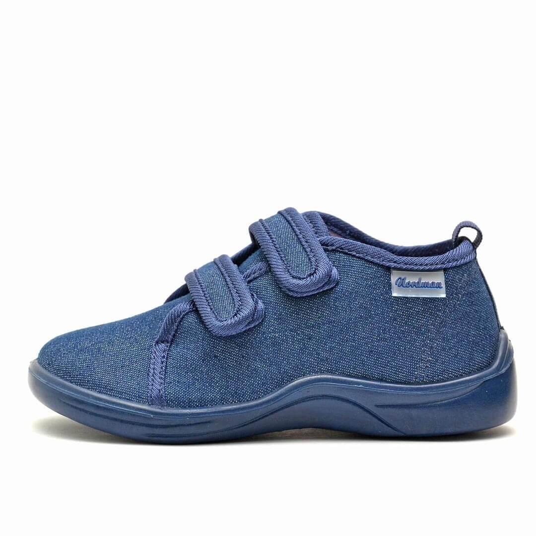 Тапочки дошкольные Nordman Stars синие