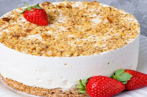 Торт Пломбир без сахара и глютена
