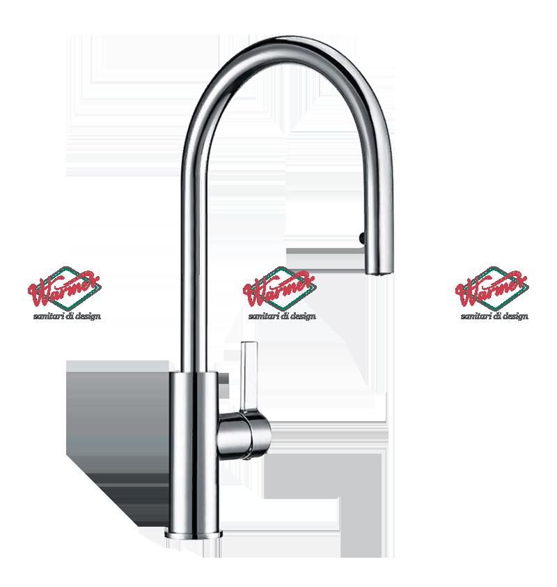 Смесители для кухни Смеситель для кухни Warmer Brushed Chrome Line KPV-0221 KPV-0230-_5_.png