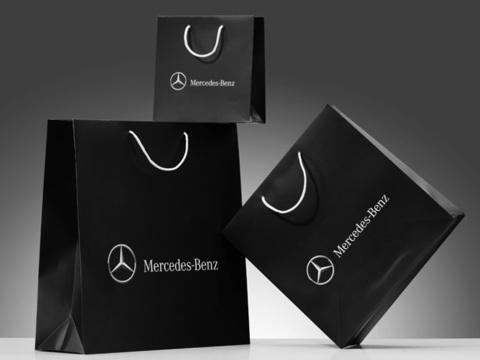 Бумажный пакет Mercedes-Benz (большой)
