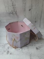 Коробка подарочная, восьмиугольная 16см