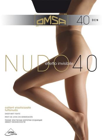 Женские колготки Nudo 40 Omsa