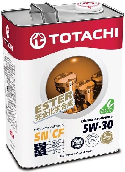 Ultima Ecodrive L 5W-30 TOTACHI масло моторное синтетическое (4 Литра)