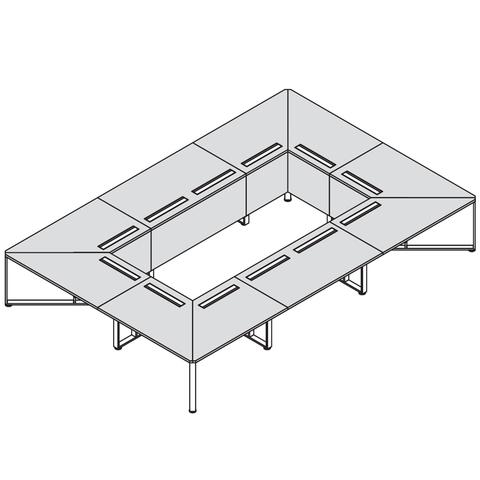 Стол прямоугольный 4800*3200 (OLLIE)