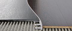 Радиусные, гнутые профили/пороги Progress Profiles Proterminal curve PTANCV 15 для напольных покрытий из ламината, паркета, керамогранита, ковролина, линолеума