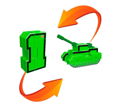 1 Трансбот Танк разрушитель (цифра один)