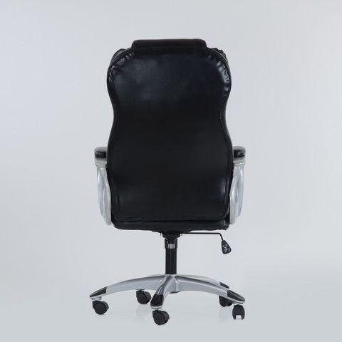 Кресло  K-5 для руководителя черная кожа