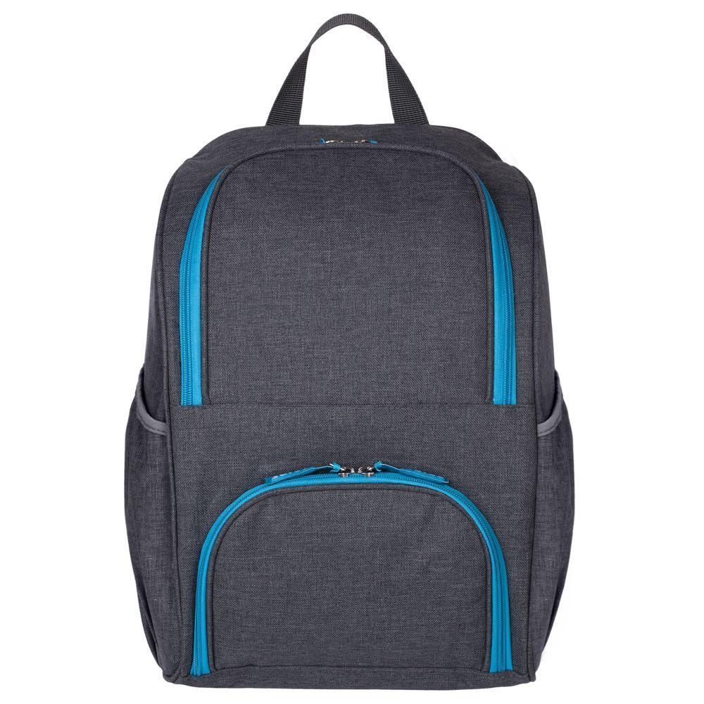 Liten Fest Isothermal Backpack, grey with blue