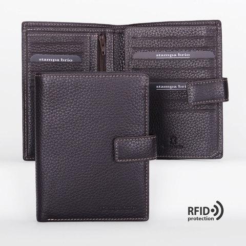 603 R - Портмоне вертикальное 5в1 с RFID защитой
