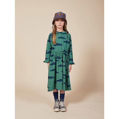 Платье Bobo Choses Clouds Green