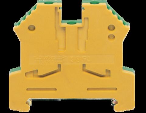 SL 2,5/35 GNYE винтовая заземляющая клемма стандартного желто-зеленого цвета Артикул: 1056.2