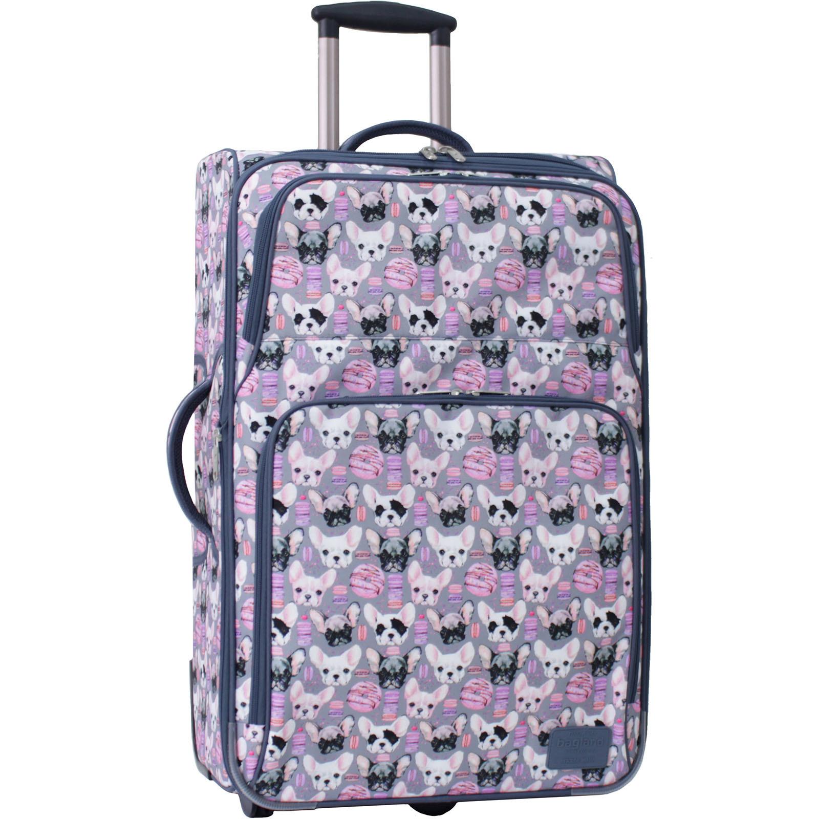 Дорожные чемоданы Чемодан Bagland Леон большой дизайн 70 л. сублімація 144 (0037666274) IMG_0808__арт.144_.JPG
