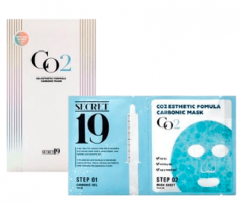 Карбокситерапия  SECRET19 CO2 Esthetic Formula Carbonic Mask, 1шт