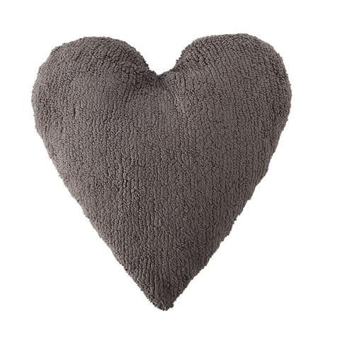 Подушка Lorena Canals Heart Light Grey (50 x 45 см)