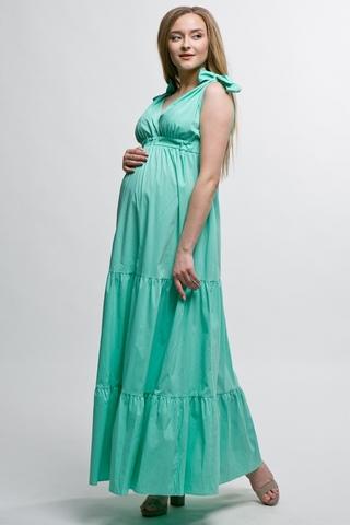 Платье для беременных 10335 мята