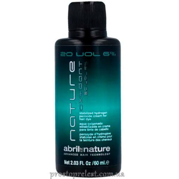 Abril et Nature Color Oxydant 20 vol - Окислитель для волос 6% 60 мл