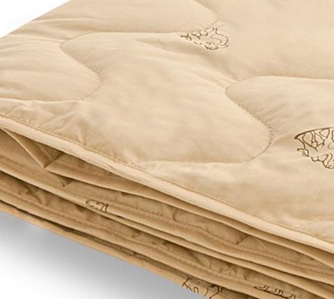Одеяло легкое из верблюжьей шерсти Верби 140x205