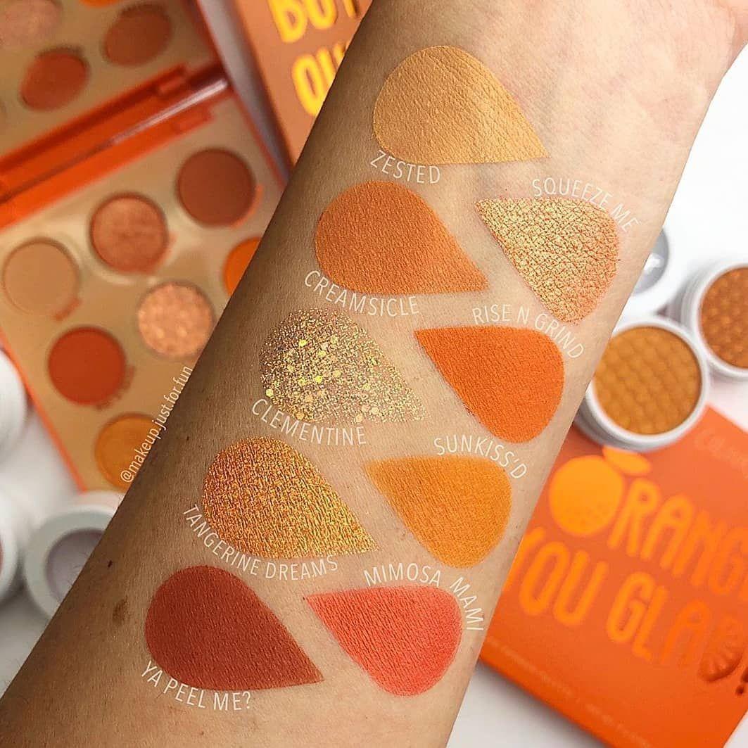 ColourPop Orange You Glad palette